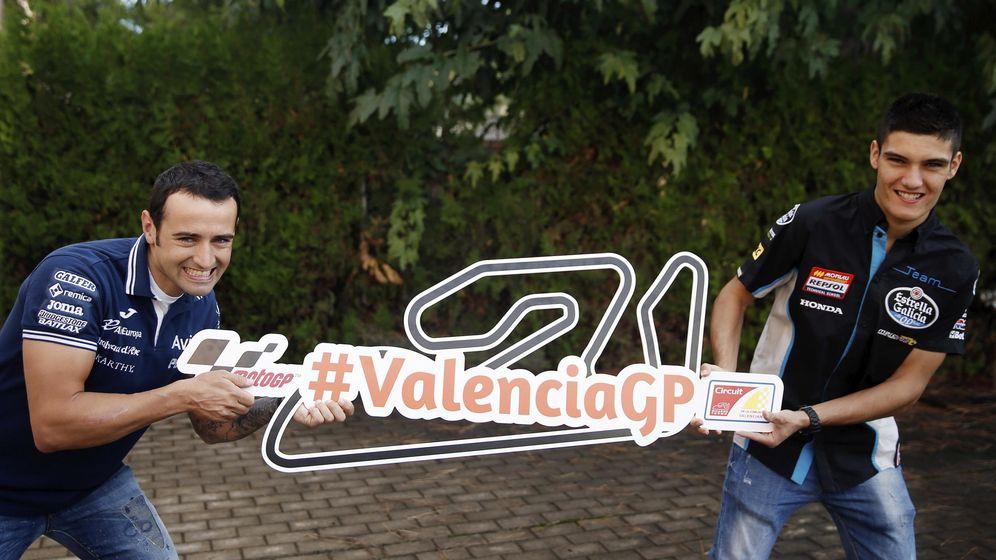 Foto: Héctor Barberá, con la etiqueta #ValenciaGP | EFE