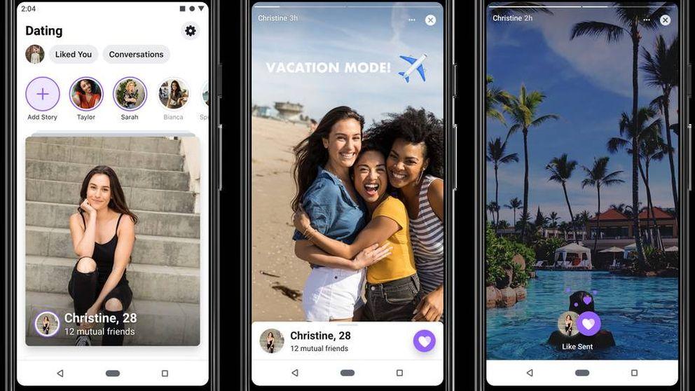 Así es Dating, la 'app' de citas que ha lanzado Facebook para competir con Tinder