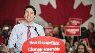 Trudeau es el Albert Rivera canadiense y, sí, tres meses son suficientes para ganar