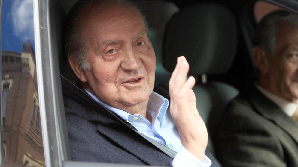 Don Juan Carlos, pillado en Londres
