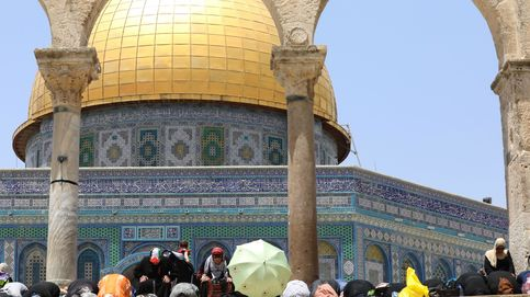 Disturbios frente a la mezquita al-Aqsa de Jerusalén en la celebración del Eid al-Adha