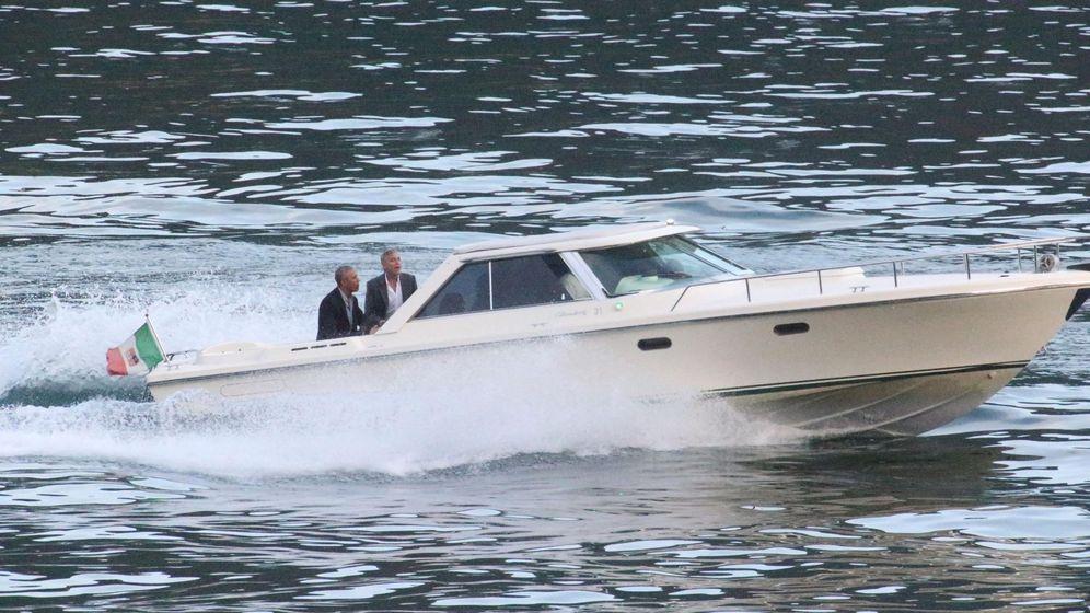 Foto: Obama y George Clooney, en Como. (EFE)