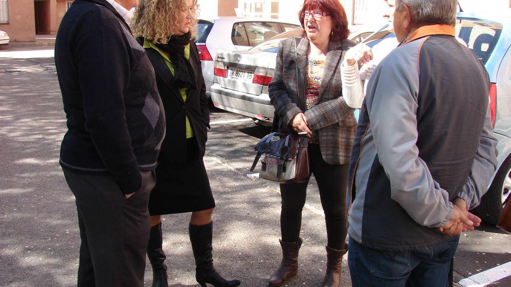 Foto: La concejala Monserrat García (a la derecha), junto a la alcaldesa de Aranjuez, Cristina Moreno