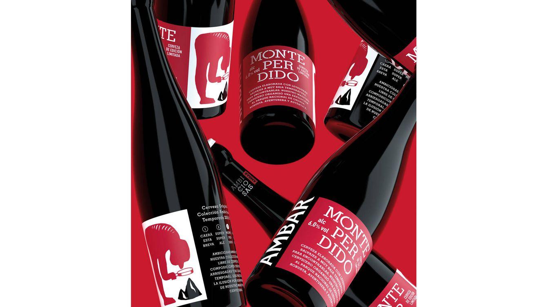 Foto: Ambar Monte Perdido es la última propuesta rompedora de la cervecera, dentro de su colección Ambiciosas Ambar.