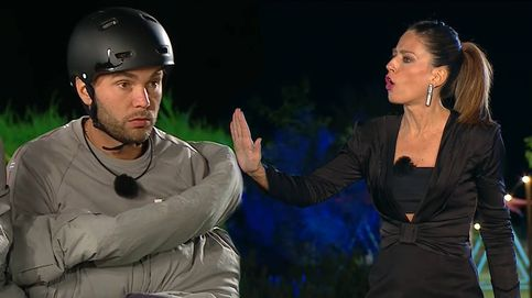 Nuria Marín para los pies a Cristian en 'La casa fuerte': No te lo consiento