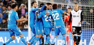 Post de Al Valencia también le quema el favor del Barcelona y pierde en Getafe