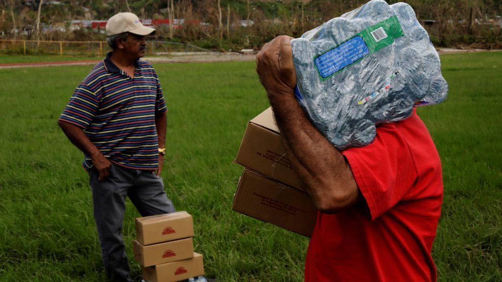 Buscando agua en Puerto Rico