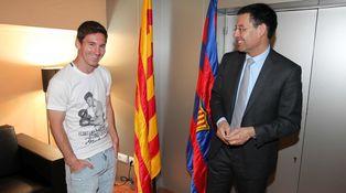Bartomeu mintió a los socios del Barcelona: Messi no ha firmado su renovación