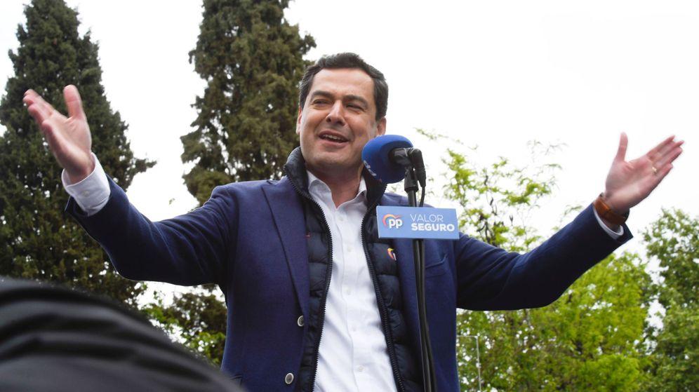 Foto: El presidente de la Junta y líder del PP-A, Juanma Moreno. (EFE)
