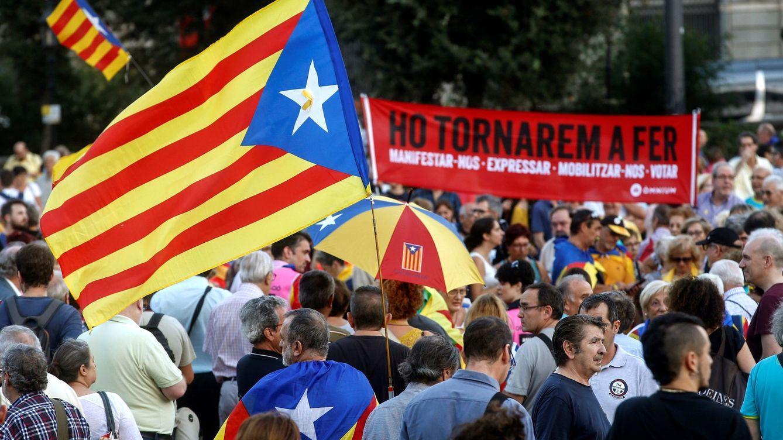 1 de octubre, en directo | La marcha de Barcelona solo congrega a 18.000 personas