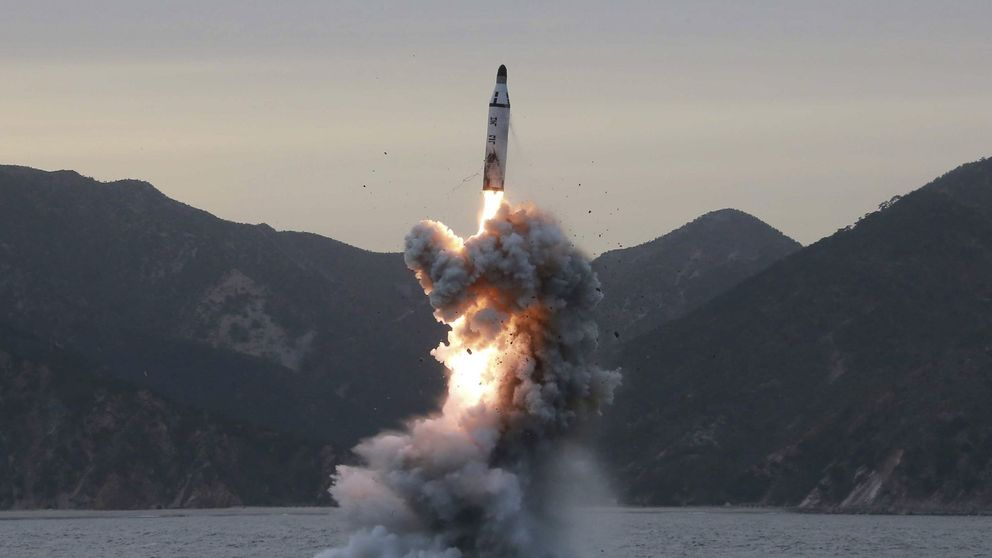 Corea del Norte falla en el envío de un nuevo misil balístico