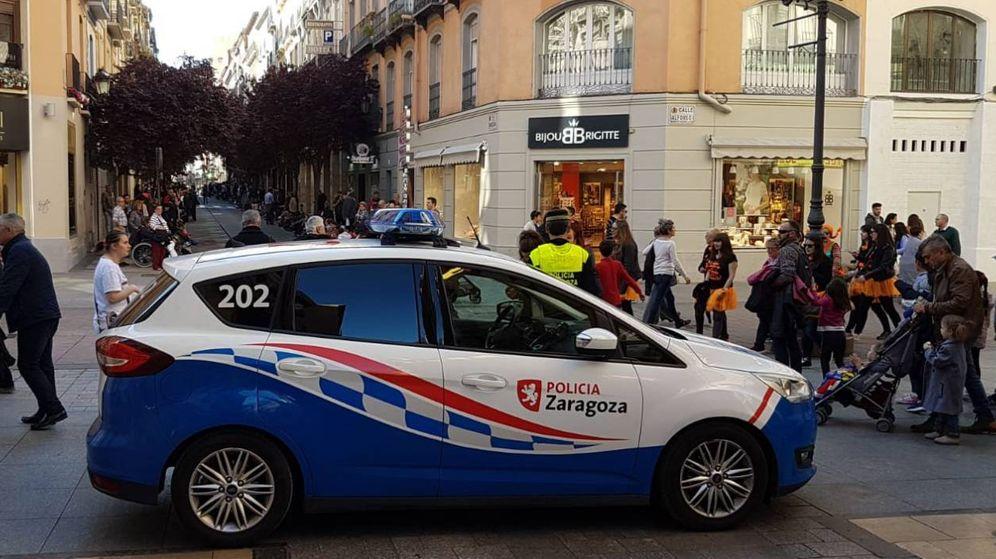 Foto: Agente de la Policía Local de Zaragoza (Policía de Zaragoza)