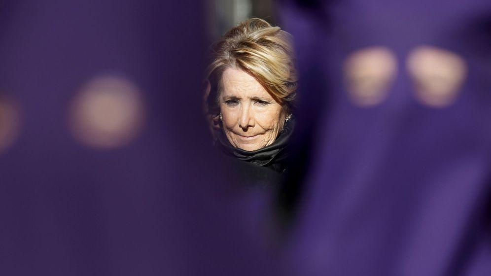 Foto: La portavoz del PP en el Ayuntamiento de Madrid, Esperanza Aguirre. (EFE)