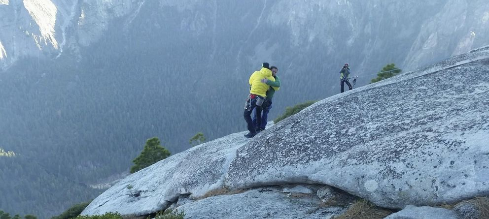 Foto: Los 'Spiderman' de Yosemite hacen historia al coronar El Capitán