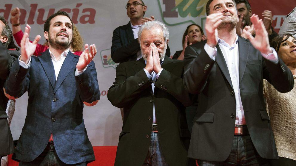"""Anguita: """"No hay que  hablar con el PSOE. Los nuestros son otros"""""""