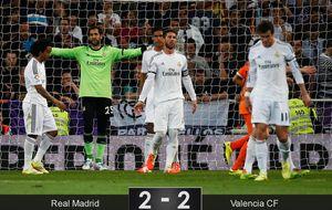 El Real Madrid se estrella y fracasa cuando lo tenía todo a su favor