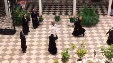 Unas monjas sevillanas cambian los dulces por el baloncesto durante la cuarentena