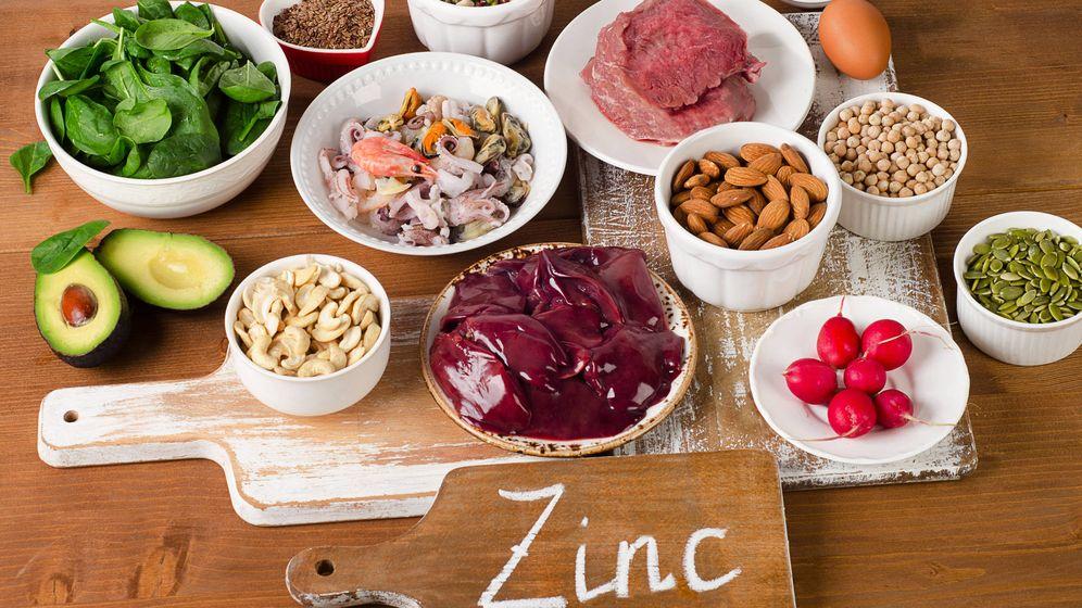 Foto: Alimentos ricos en zinc (iStock)