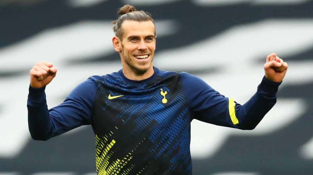 Foto: Gareth Bale, antes del partido del Tottenham contra el West Ham. (REUTERS)