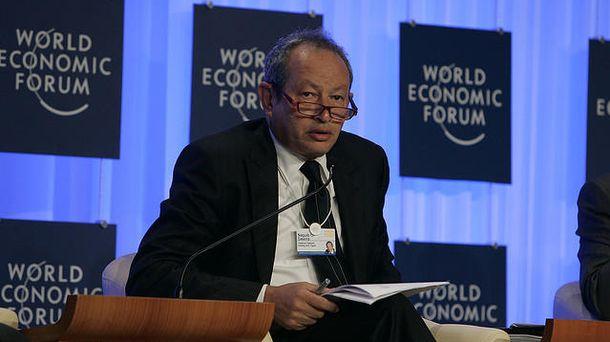 Foto: El magnate egipcio Naguib Sawiris. (Wikipedia)