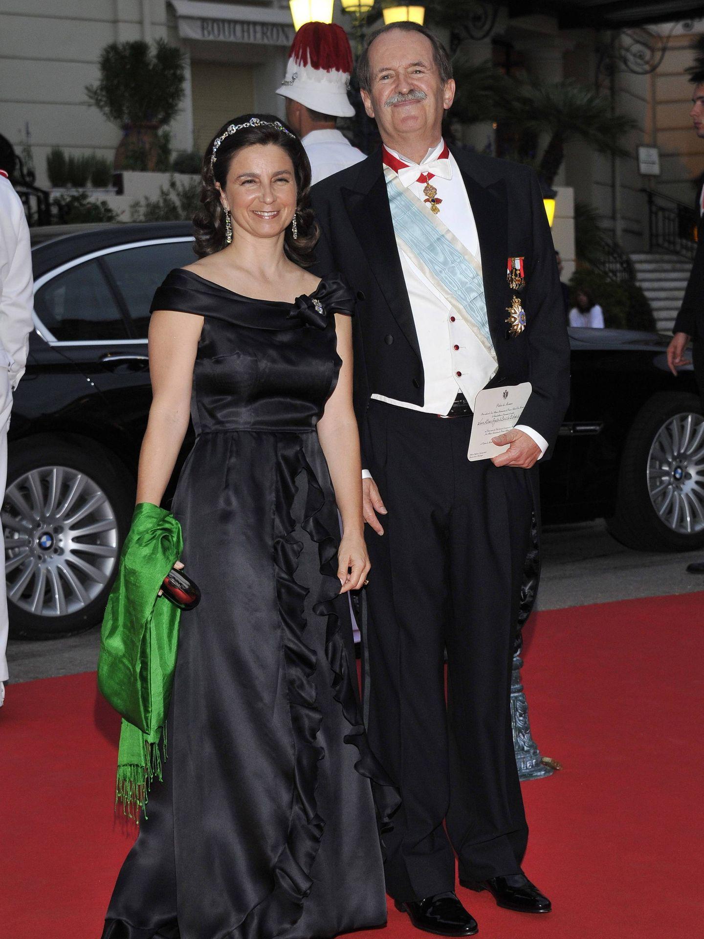 En los actos de celebración de la boda de Alberto y Charlène de Mónaco. (EFE)