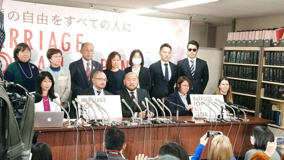 Foto: 13 parejas homosexuales denuncian al estado de Japón por discriminación al no poder contraer matrimonio (Foto: 'Marriage for all - Japan')