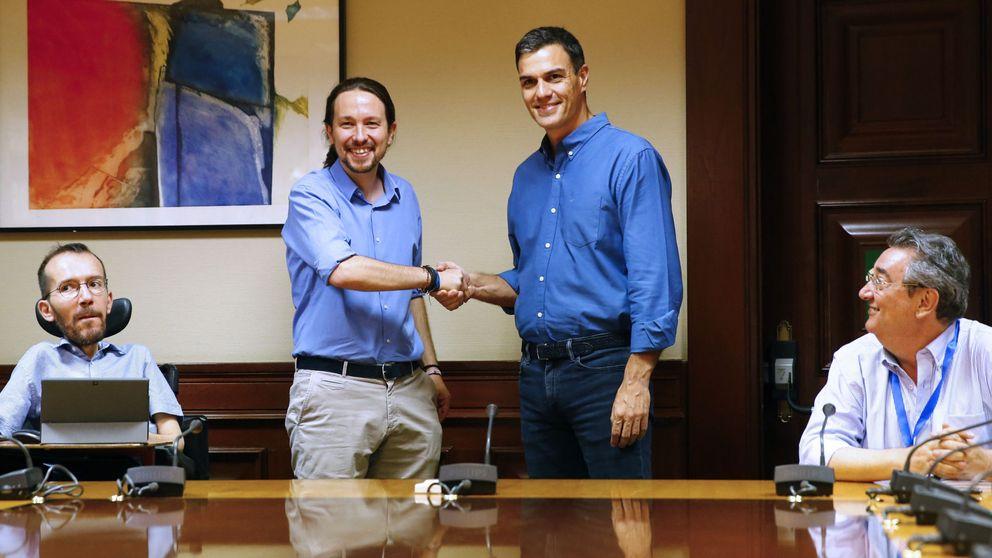 PSOE y Podemos acuerdan una agenda contra el PP pero se traban con Cataluña