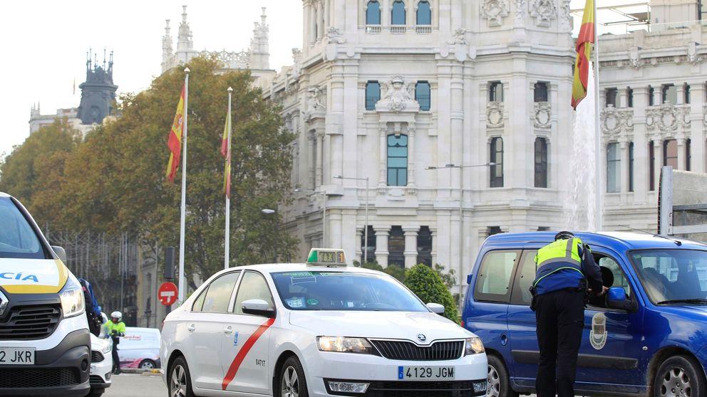Escenario 2 en Madrid: controles aleatorios en la M-30, multas de 90 €...