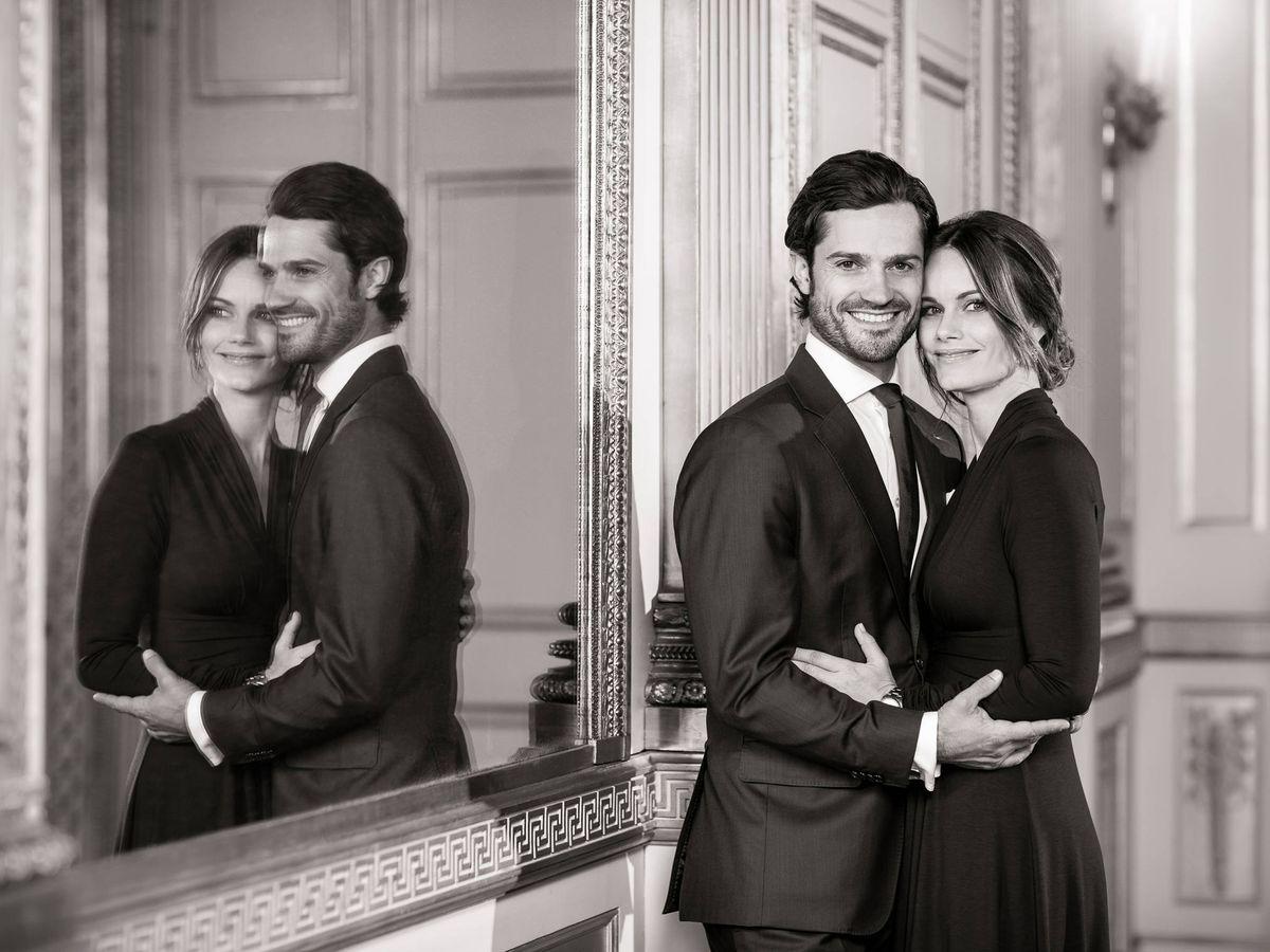 Foto: Carlos Felipe y Sofía de Suecia. (Casa Real de Suecia)
