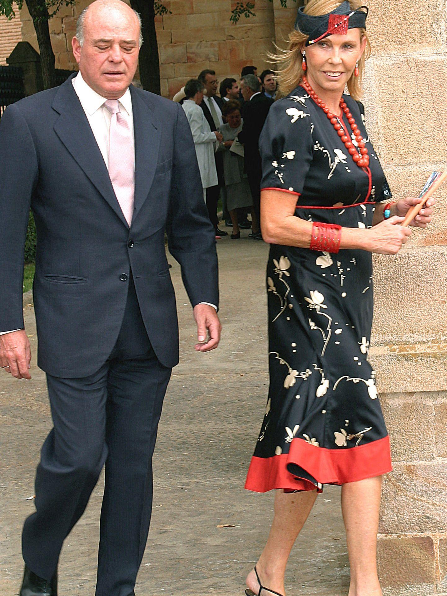 Juan Abelló y Ana Gamazo, en una imagen de archivo