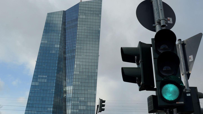 Fachada de la sede del BCE en Fráncfort. (EFE)