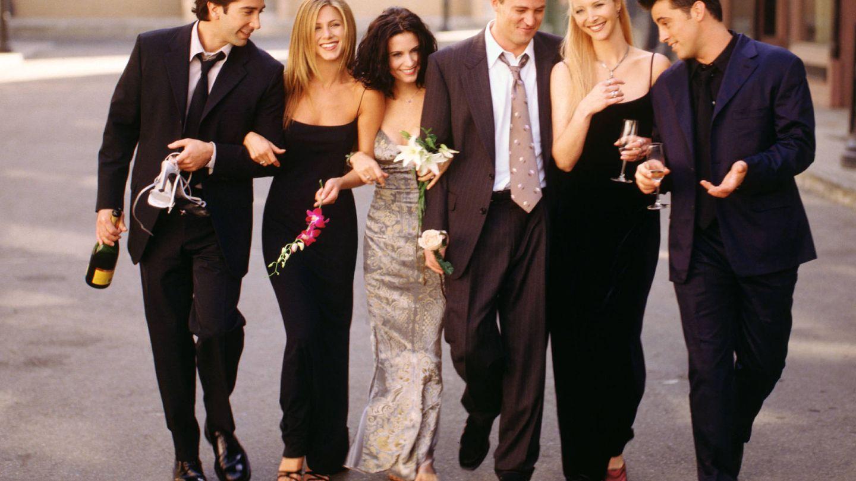 El elenco de 'Friends', en una imagen de archivo. (Getty)