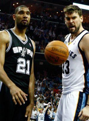 Los Grizzlies de Marc ponen el 3-1 en la serie contra los Spurs