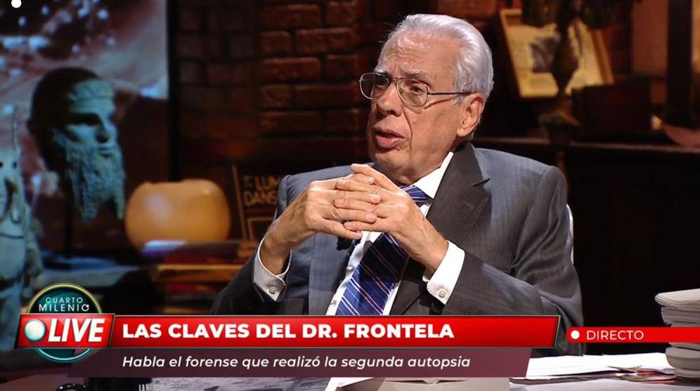 Foto: Luis Frontela en 'Cuarto Milenio'.