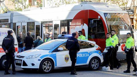 Herida una mujer al ser atropellada por el tranvía de Zaragoza
