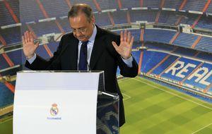 Florentino se mete a ponente para exponer su visión del Real Madrid
