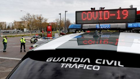Atropellan a un guardia civil durante un control de carretera en Granada