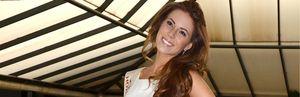 Foto: Miss España, Andrea Huisgen, deja tirada a Anne Igartiburu