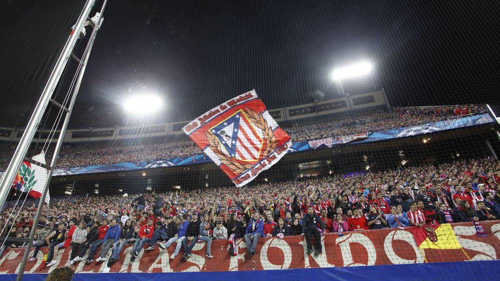 Foto: La afición del Atlético siempre gana la Champions
