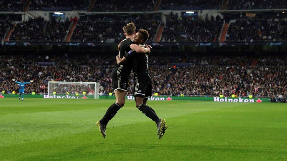 El Ajax cierra en máximos históricos tras su victoria sobre el Real Madrid
