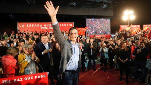 Sánchez se centra en el voto útil y la movilización tras aprobar en los debates