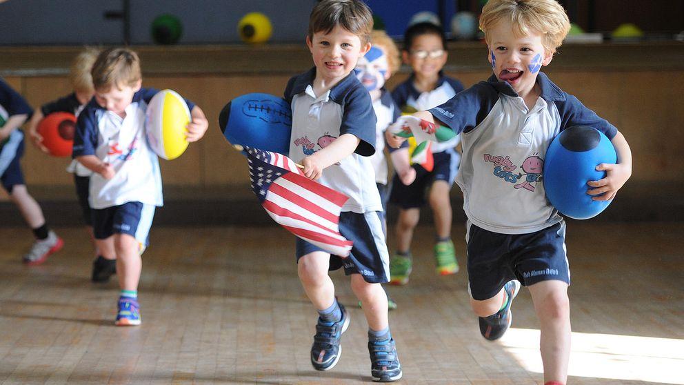¿Cómo es jugar al rugby sin contacto? Rugbytots, para niños, llega a España