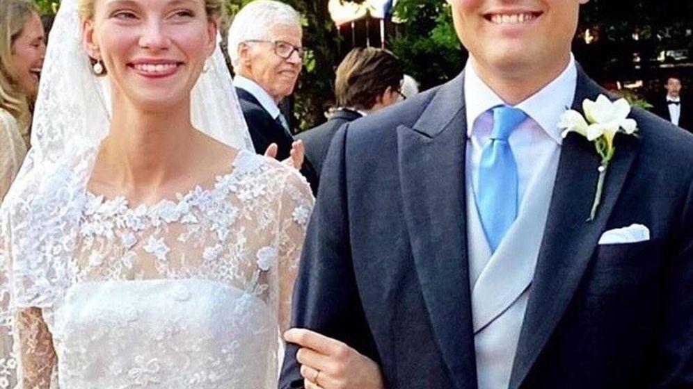 Foto: Gabriella de Austria y Henri de Borbón-Parma. (Instagram)