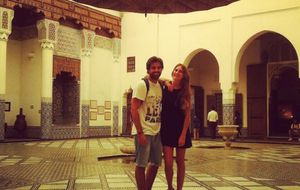 La romántica escapada marroquí de Sibi Montes con su novio