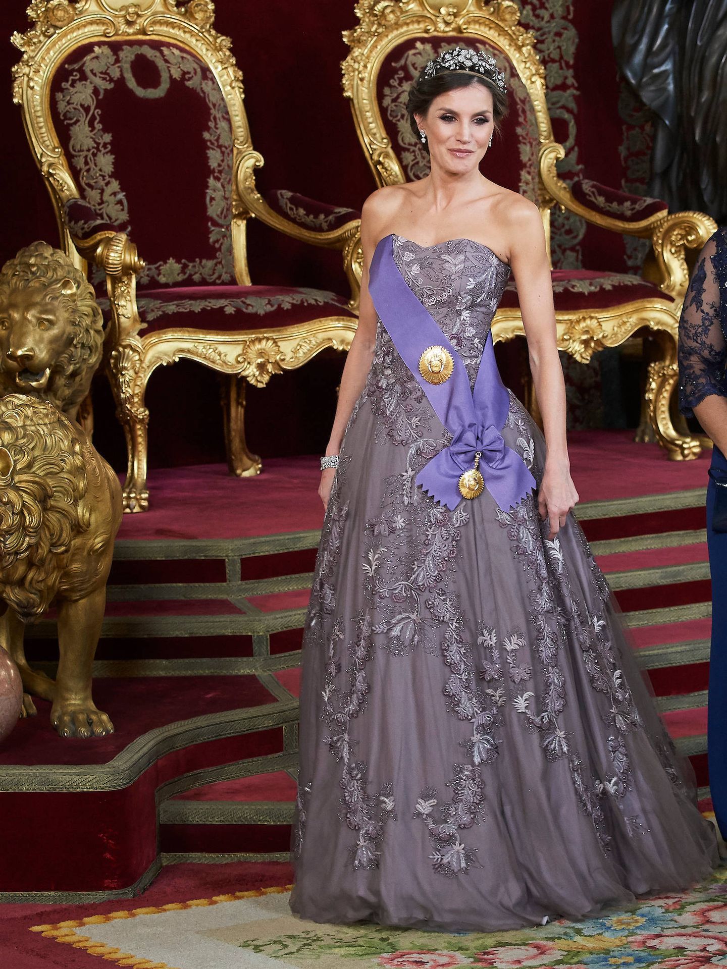 La reina Letizia. (Limited Pictures)