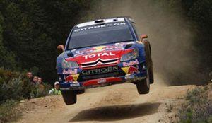 Foto: Loeb lidera al término de la primera etapa