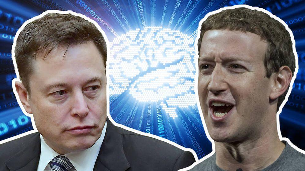 Foto: ¿Es o no es la Inteligencia Artificial un peligro para la humanidad? Musk y Zuckerberg tienen visiones opuestas. ¿Por qué?