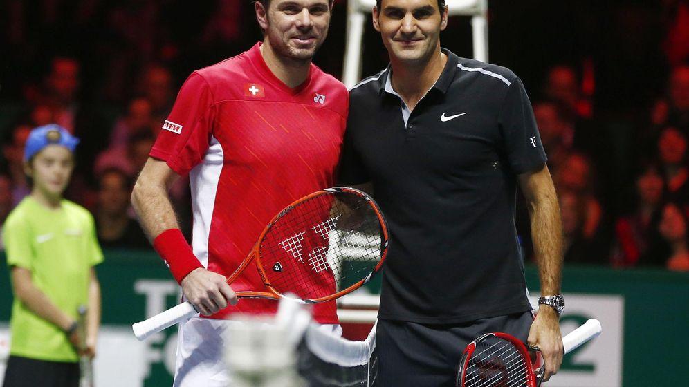 Foto: Así vivimos en directo el Wawrinka-Federer