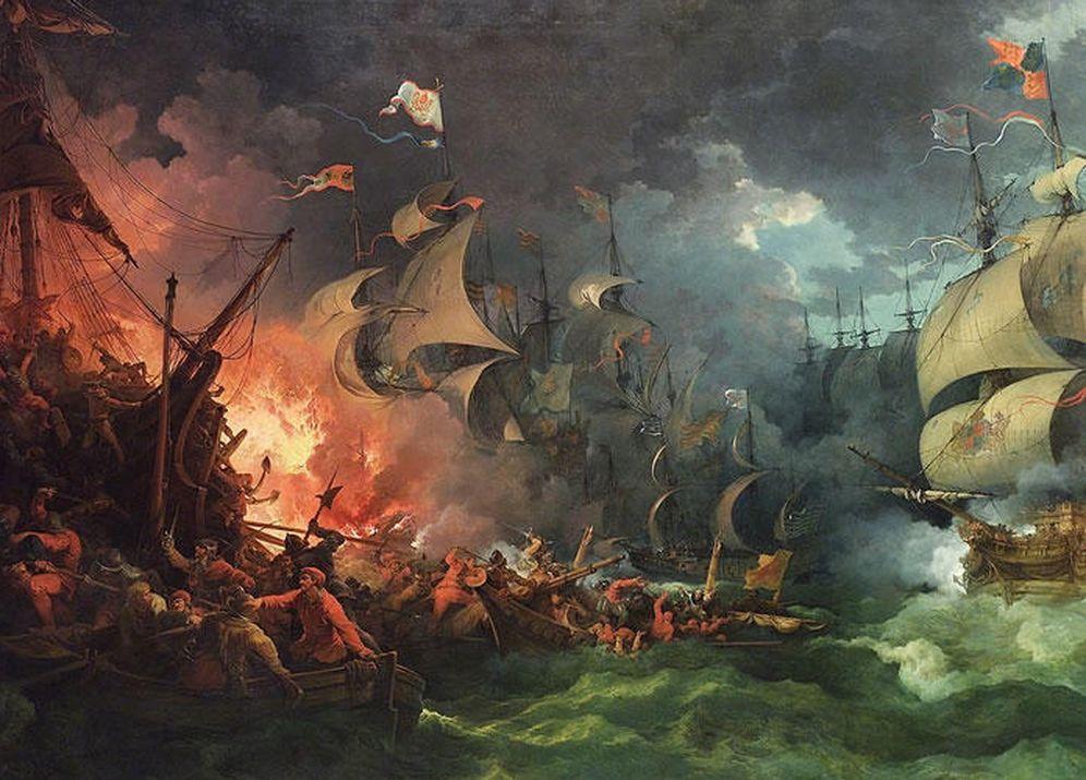Historia: El galeón San Marcos, un coloso devorado por la tormenta ...