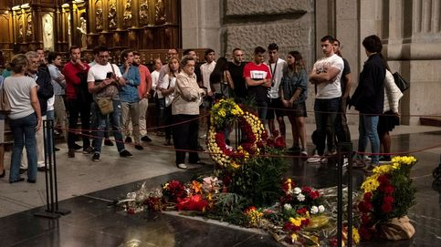 Impiden el acceso a un grupo que quería entrar en el Valle de los Caídos a una misa